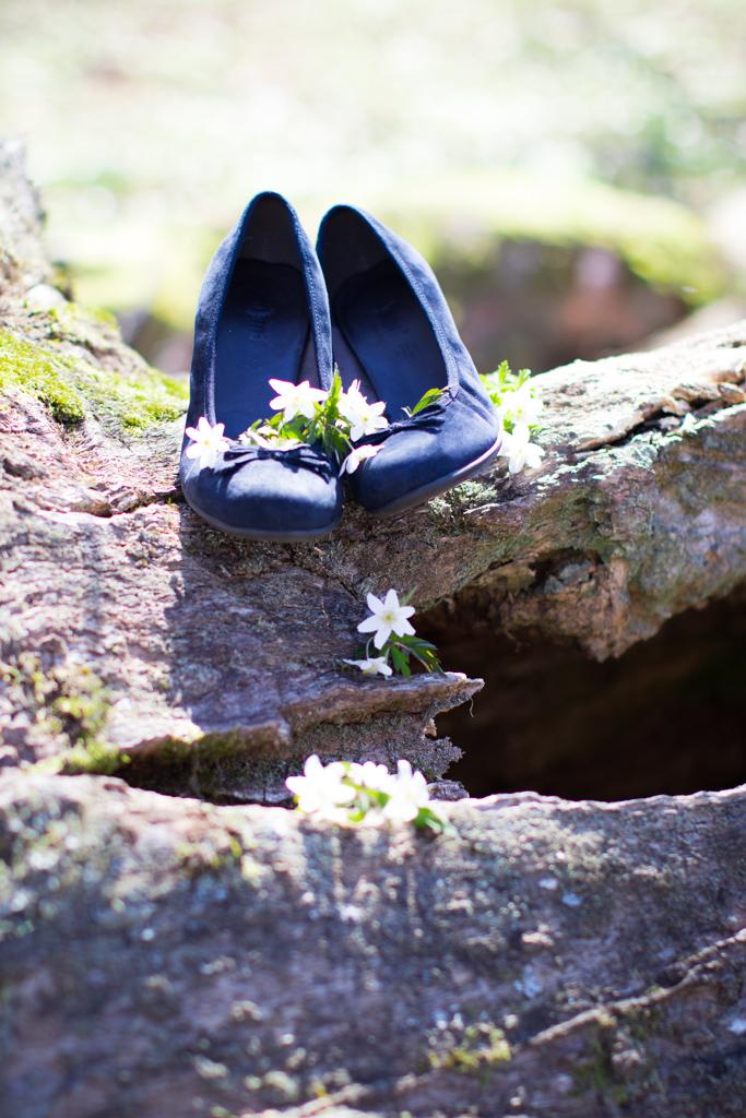 Torpanäset - Blå skor till bröllop | photobymj.se