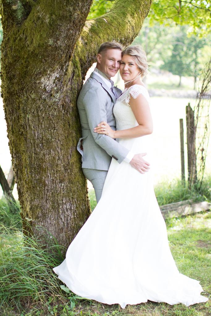 Grön Fotografering - Brudporträtt brud och brudgum | photobymj.se