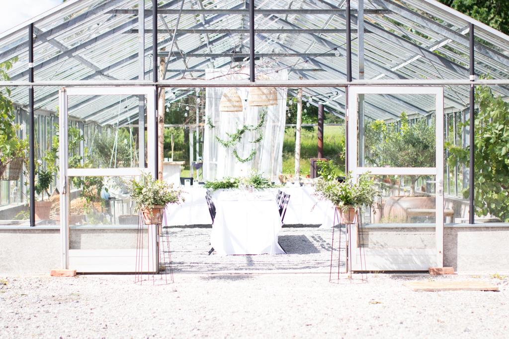 Grön Fotografering - Bröllopsdukning | photobymj.se