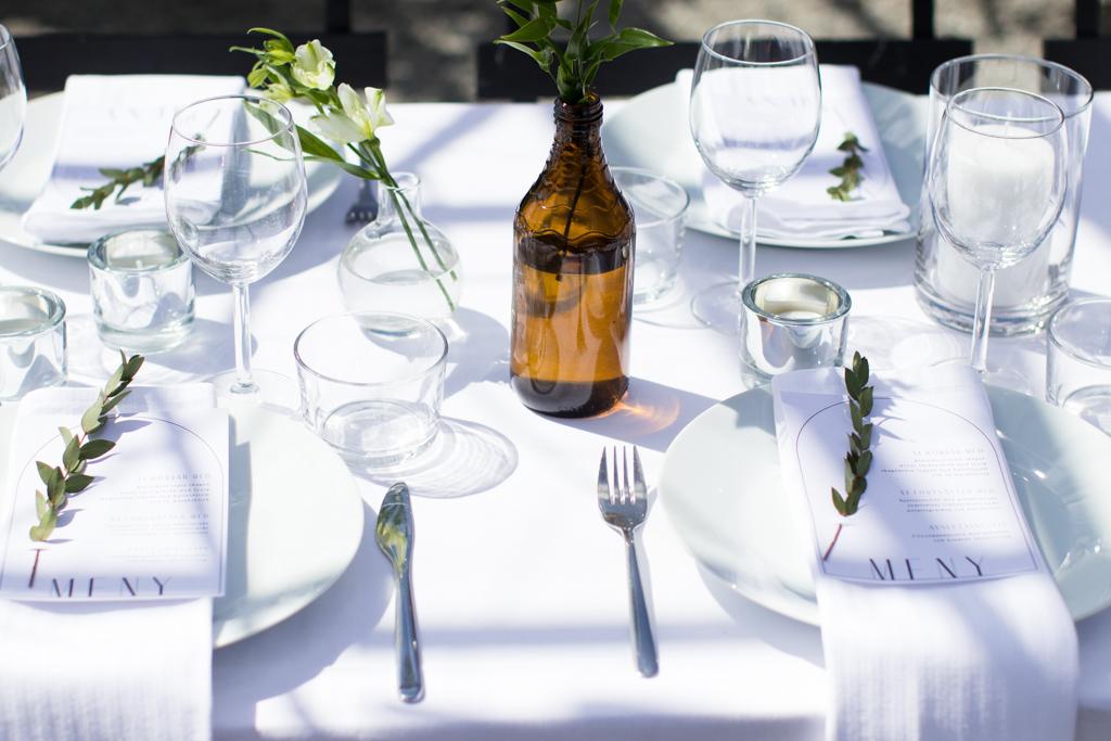 Grön Fotografering - Bordsdekorationer på bröllop | photobymj.se