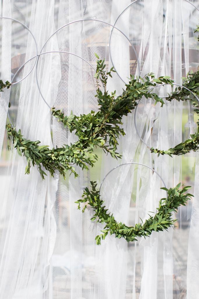 Grön Fotografering - Vackra dekorationer vid honnörsbordet | photobymj.se