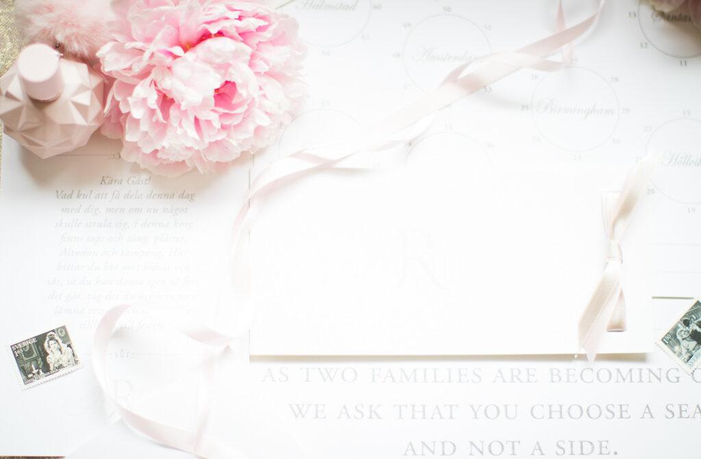 Trycksaker M&M - Trycksaker till bröllopet | photobymj.se