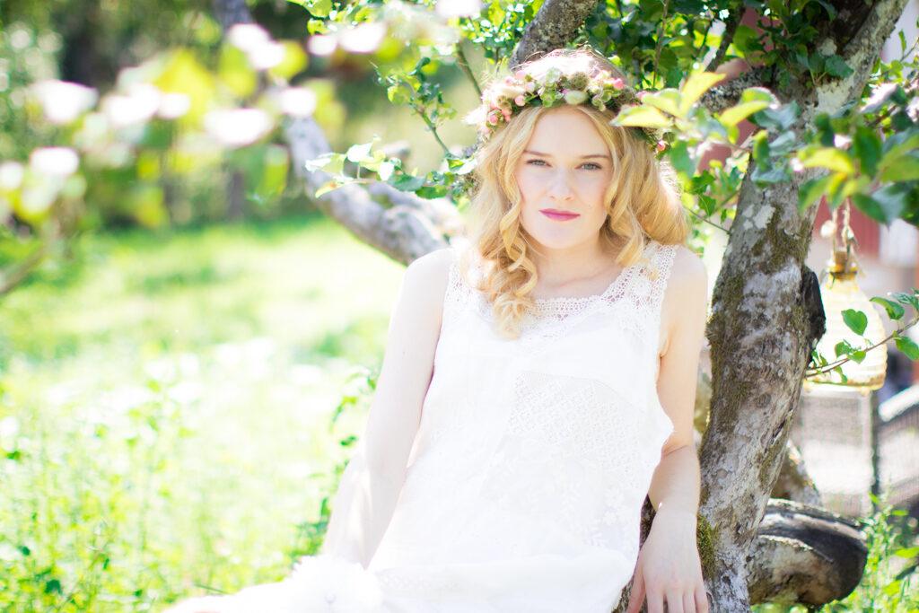 Wilma - Närbild på bruden   photobymj.se