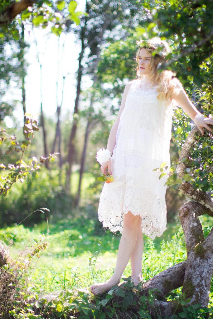 Wilma - Brudporträtt av sommarbrud | photobymj.se