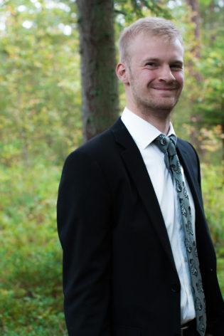 Jag har fotat en Älva och en Rockstjärna i skogen!- Porträtt Best man | photobymj.se