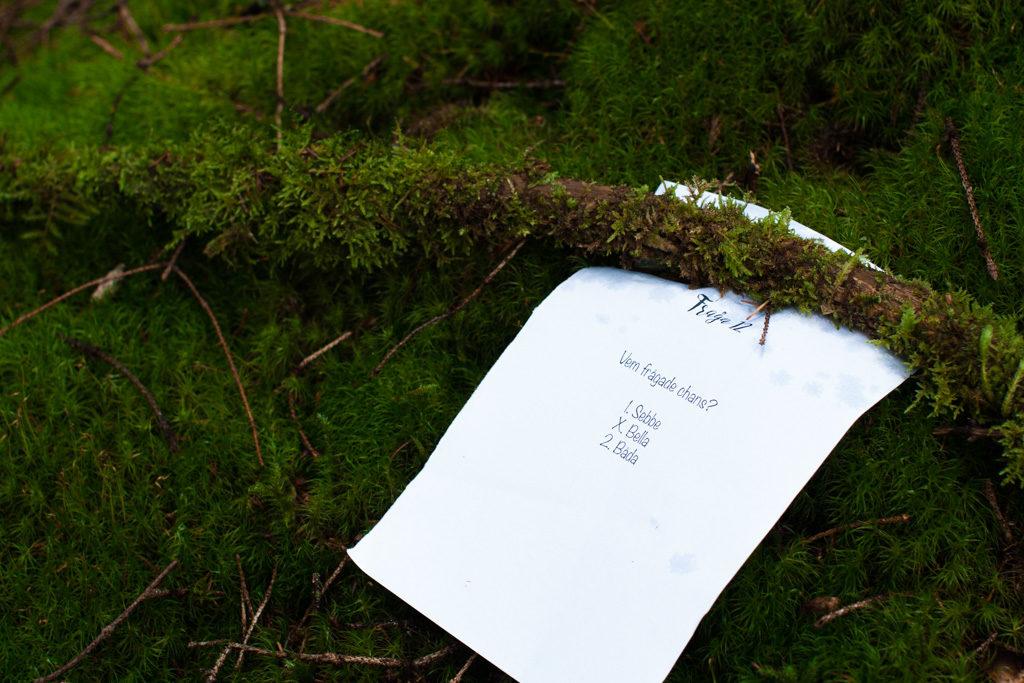 Jag har fotat en Älva och en Rockstjärna i skogen!- Tipspromenad mellan vigsel och mingel! | photobymj.se