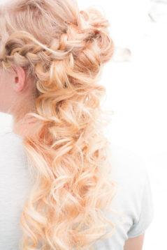 Jag har fotat en Älva och en Rockstjärna i skogen!- Brudens håruppsättning! | photobymj.se