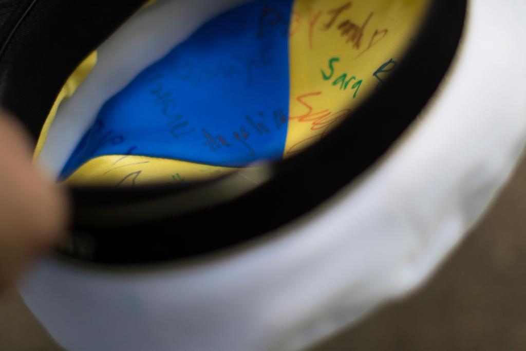 Student - Blått och gult i mössan | photobymj.se
