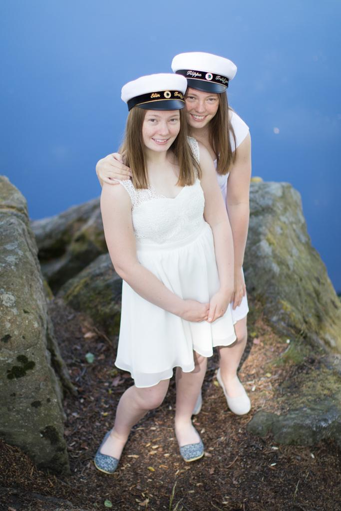 Student 2020 - Studentporträtt tvillingar | photobymj.se