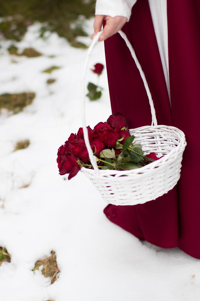 Rödluvan - Inspirationsbild till vackra porträtt | photobymj.se